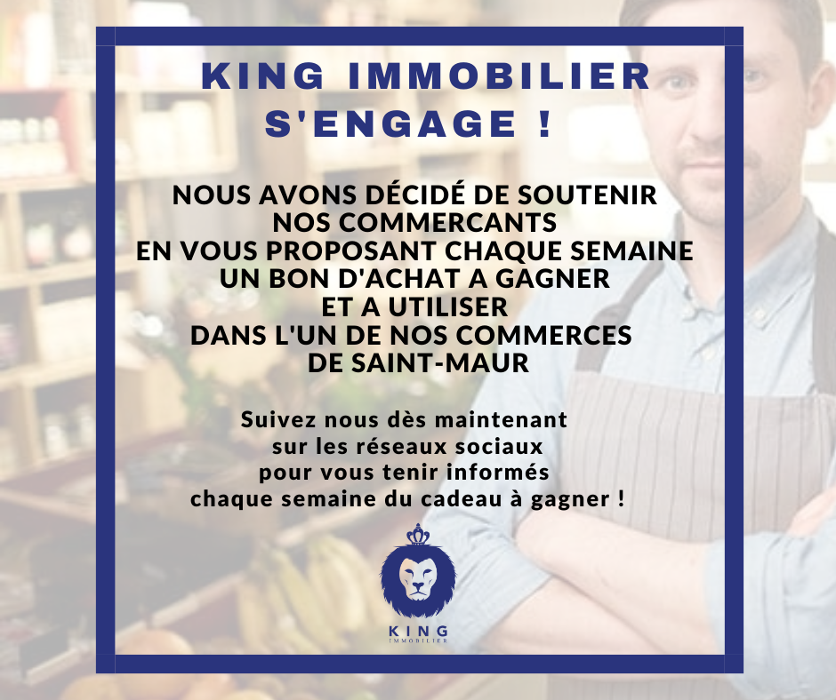 KING IMMOBILIER S'ENGAGE !